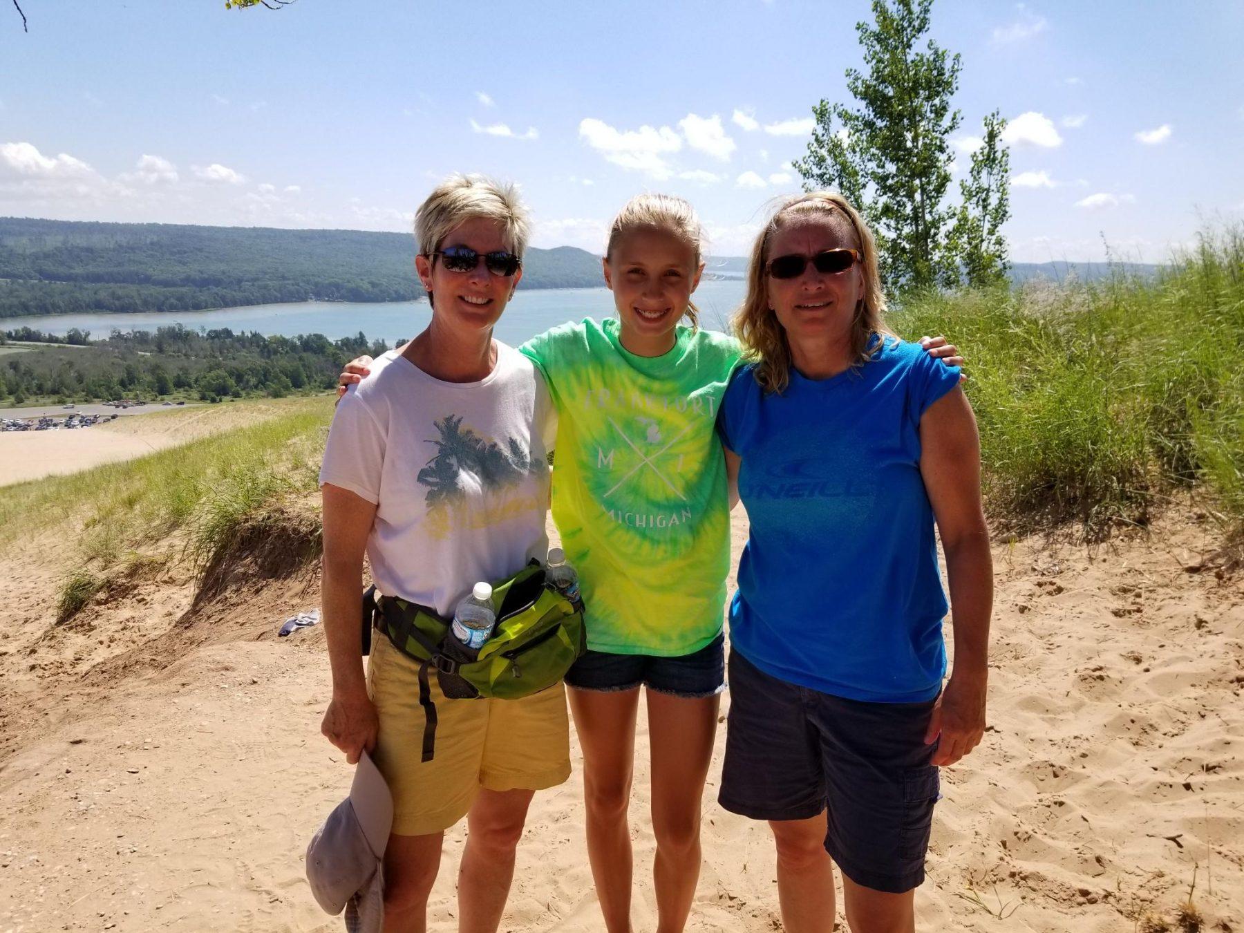 Kim Peters family