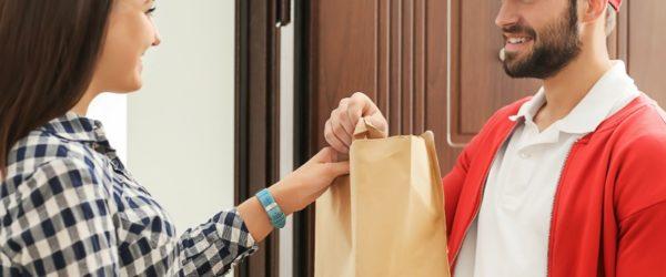 food deliveryman